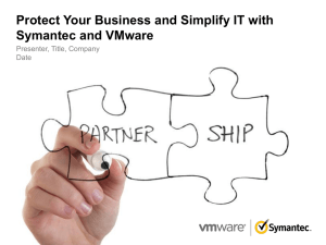 Protect Your Business and Simplify IT