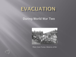 Evacuation Powerpoint Presentation