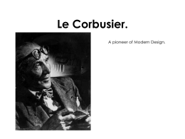 Le Corbusier - the Redhill Academy