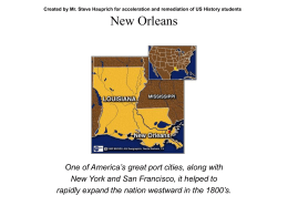 Federalism and New Orleans