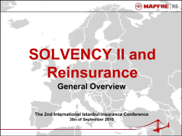 SOLVENCY II and Reinsurance - International Istanbul Insurance