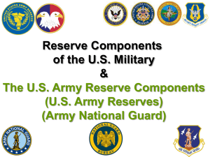 Reserve Components of the U.S. Military