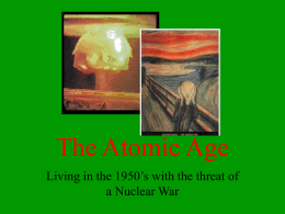 The Atomic Age - World of Teaching