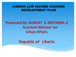 3. Day 1. Session 4. Liberia Presentation.MIA