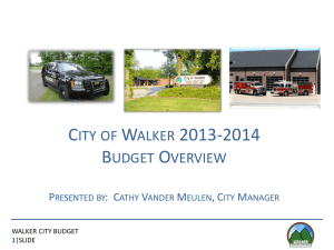 1 - City of Walker, Michigan