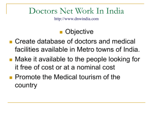 Investors - Doctor`s Networks In India