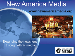 New America Media - Tuning in to diversity