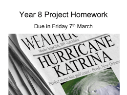 Year-8-Project-Homework