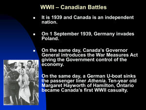 Unit 3 - Lesson 5 - Battles of WWII