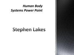 Human Body Systems PowerPoint