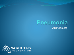 Powerpoint of Pneumonia Graphics