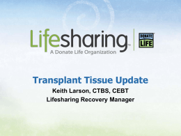 Lifesharing Tissue Bank