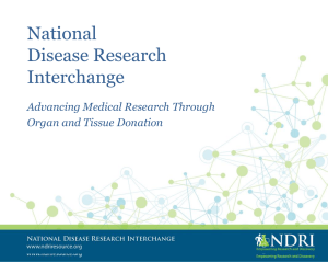 National Disease Research Interchange