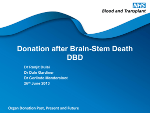 Donation after Brain