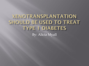 Xenotransplantation is a good solution to long organ transplant