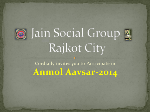 Jain Social Group Rajkot City