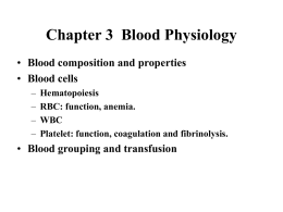 Blood and Body Fluid