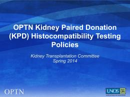 UNOS/OPTN PPT template 04/2012 - dark