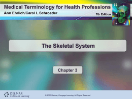 Introduction to Medical Terminology - Cengage Learning