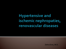 Renovascular Hypertension