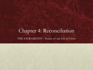 Chapter 4: Reconciliation - Midwest Theological Forum