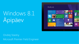 Windows 8.1 Enterprise Deck Short (Customer