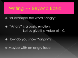 100 words extension Writing ~~ Beyond Basic