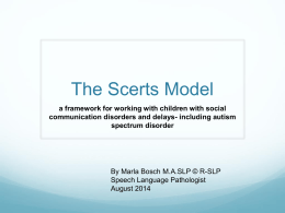 The SCERTS® Model
