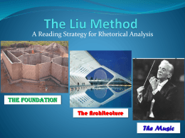 The Liu Method