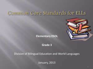 Common Core State Standards 3