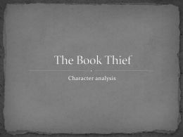 The Book Thief Teaching Guide - eNotes.com
