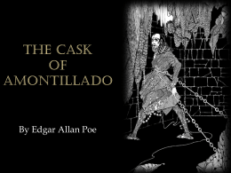 The Cask of Amontillado Powerpoint