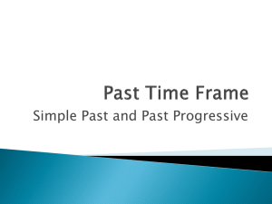 Past Time Frame - Bakersfield College