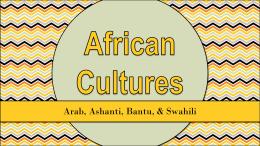 Ethnic Groups in Africa - Effingham County Schools