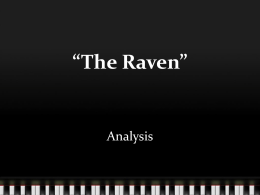 Raven Analysis PPT