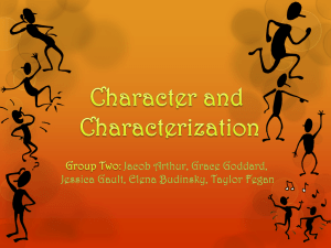 Characterization Power Point