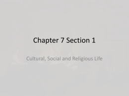 Chapter 7 Section 1