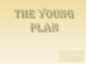 The Young Plan Study Guide