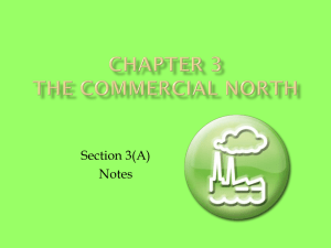 Chapter 3 The Commercial North