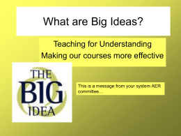 What-are-Big-Ideas