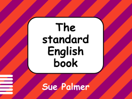 The Standard English Book