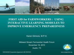 First Aid for Rural Health Emergencies