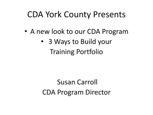 Build Your Training Portfolio in Power Point Format