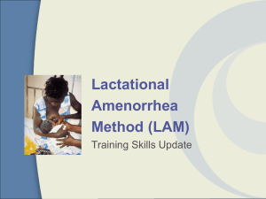 LAM Training Skills Update