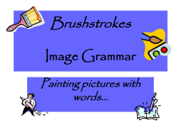 Brushstrokes Powerpoint