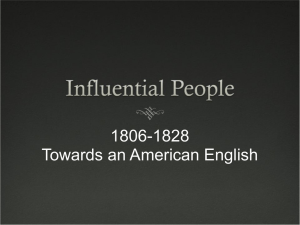 PowerPoint file on Influential People 1806