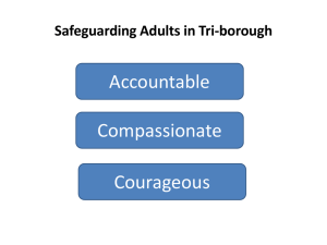 Safeguarding Adults in Tri-borough