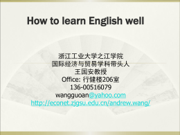 11.How to Learn English Well
