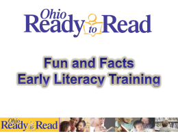 Using Books - Ohio Ready to Read