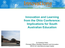 Implications for South Australian Education
